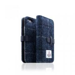 【iPhone6s/6 ケース】Harris Tweed Diary ネイビー