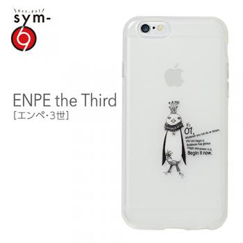 【iPhone6s Plus/6 Plus ケース】ストーリーを持ったキャラクターたち! ソフトTPUケース ENPE the Third(エンペ・3世) 乳白クリア