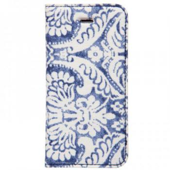 【iPhone SE 5s/5 ケース】Denim Paisley Diary