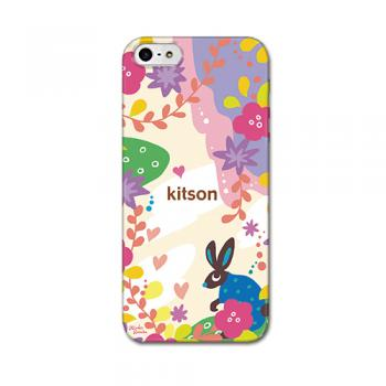 【iPhone SE 5s/5 ケース】kitson(キットソン) うさぎ(白)