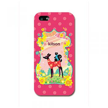 【iPhone SE 5s/5 ケース】kitson(キットソン) バンビ(赤)