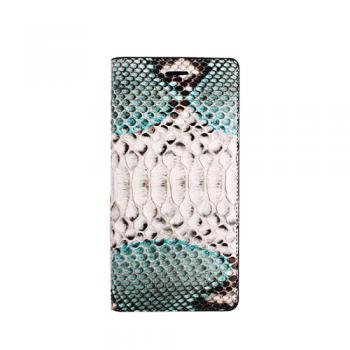 【iPhone6s Plus/6 Plus ケース】Real Snake Diary Turquoise Blue