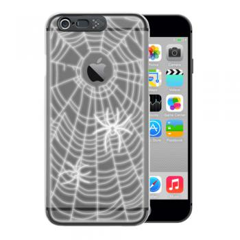 【iPhone6s Plus/6 Plus ケース】i-Clear イルミネーションケース Spider Black