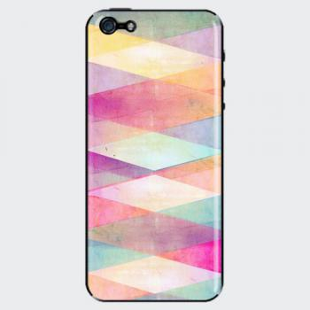 【iPhone6s/6 ケース】ピタッと貼り付く機能的なスマホカバー Acriilic Pattern Pink