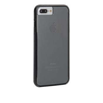 【iPhone8/7 Plus ケース】クリアケース Hybrid Tough Naked Case Smoke / Black