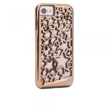 【iPhone8/7 ケース】ハードケース Tough Layers Case Stars / Rose Gold