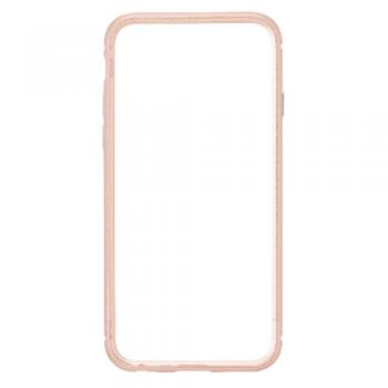【iPhone6s Plus/6 Plus ケース】クリスタルアーマー METAL BUMPER ROSE GOLD